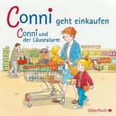 Conni geht einkaufen / und der Läusealarm, 1 Audio-CD