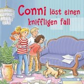 Conni löst einen kniffligen Fall, 1 Audio-CD Cover
