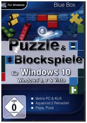 Puzzle & Blockspiele für Windows 10, 1 CD-ROM
