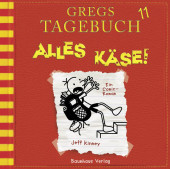 Gregs Tagebuch - Alles Käse!, 1 Audio-CD Cover