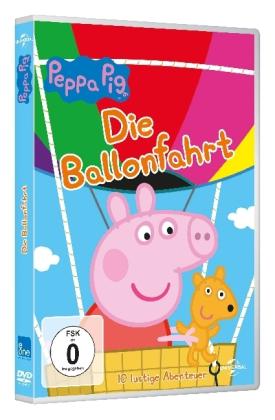 Peppa Pig - Die Ballonfahrt, 1 DVD