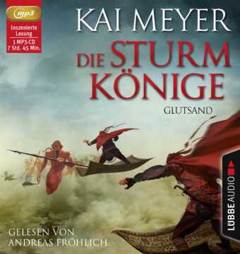 Die Sturmkönige - Glutsand, MP3-CD