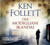Der Modigliani-Skandal, 4 Audio-CDs Cover