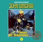 John Sinclair Tonstudio Braun - Einsatz der Todesrocker, Audio-CD