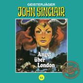 John Sinclair Tonstudio Braun - Angst über London, 1 Audio-CD