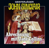 John Sinclair - Abrechnung mit Jane Collins, Audio-CD Cover