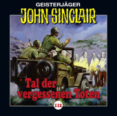 John Sinclair - Tal der vergessenen Toten, Audio-CD Cover