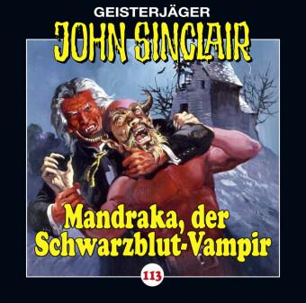 John Sinclair - Mandraka, der Schwarzblut-Vampir, Audio-CD
