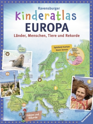 Ravensburger Kinderatlas Europa