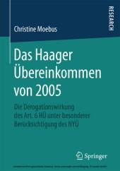 Das Haager Übereinkommen von 2005