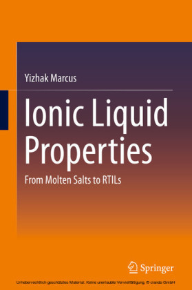 Ionic Liquid Properties