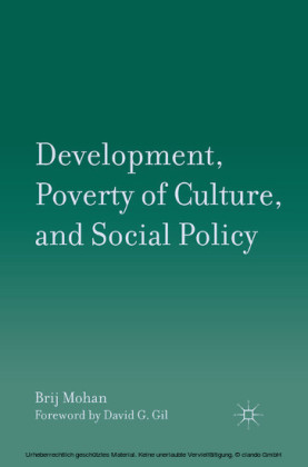 Development, Poverty of Culture, and Social Policy