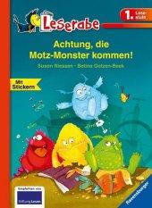 Achtung, die Motz-Monster kommen! Cover
