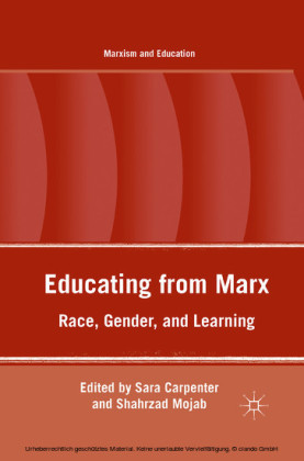 Educating from Marx