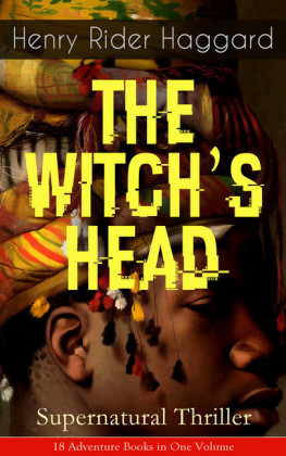 THE WITCH'S HEAD (Supernatural Thriller)