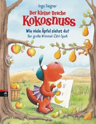 Der kleine Drache Kokosnuss - Wie viele Äpfel siehst du? Der große Wimmel-Zähl-Spaß