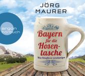 Bayern für die Hosentasche, 2 Audio-CDs