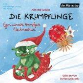 Die Krumpflinge - Egon wünscht krumpfgute Weihnachten, 1 Audio-CD Cover