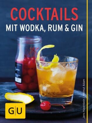 Cocktails mit Wodka, Rum und Gin