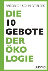 Die 10 Gebote der Ökologie Cover