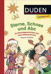 Sterne, Schnee und ABC Cover