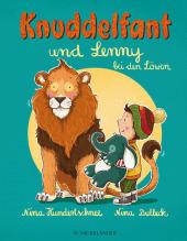 Knuddelfant und Lenny bei den Löwen Cover