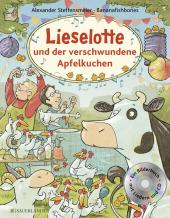 Lieselotte und der verschwundene Apfelkuchen, m. Audio-CD Cover