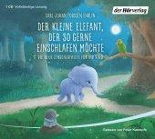 Der kleine Elefant, der so gerne einschlafen möchte, 1 Audio-CD Cover