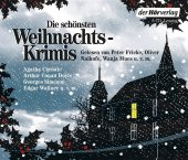 Die schönsten Weihnachtskrimis, 6 Audio-CDs Cover
