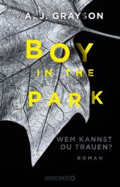 Boy in the Park - Wem kannst du trauen? Cover