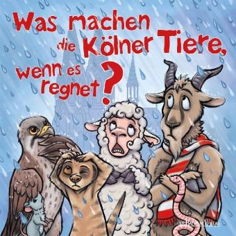 Was machen die Kölner Tiere, wenn es regnet?