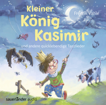 Kleiner König Kasimir und andere quicklebendige Tanzlieder, 1 Audio-CD