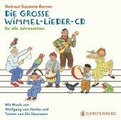 Die große Wimmel-Lieder, Audio-CD Cover