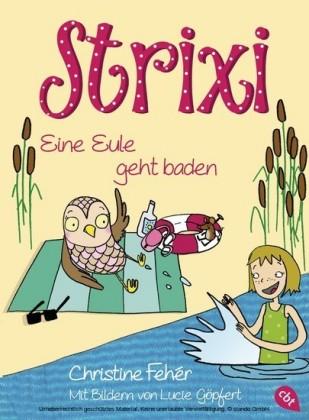 Strixi - Eine Eule geht baden