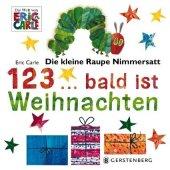 Die kleine Raupe Nimmersatt - 1, 2, 3 bald ist Weihnachten Cover