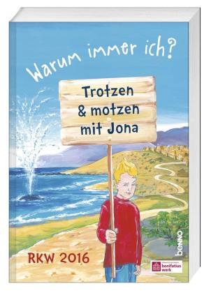"""Materialbuch """"Warum immer ich? - Trotzen & motzen mit Jona"""", m. CD-ROM"""