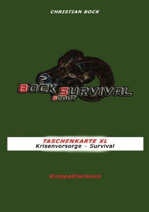 TASCHENKARTE XL Krisenvorsorge - Survival