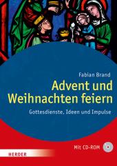 Advent und Weihnachten feiern, m. CD-ROM Cover