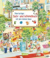 Mein lustiges Such- und Wimmelbuch mit dem kleinen Hund Cover