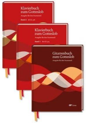 Klavierbuch und Gitarrenbuch zum Gotteslob