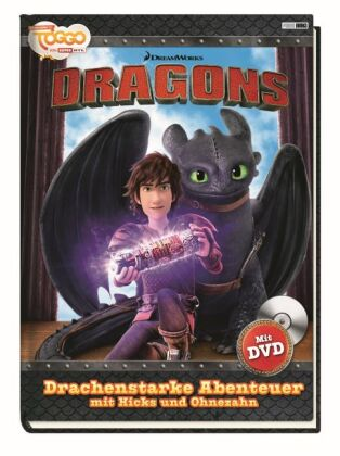 Dragons. Drachenstarke Abenteuer mit Hicks und Ohnezahn