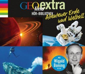 GEOlino extra Hör-Bibliothek - Abenteuer Erde und Weltall, 4 Audio-CDs