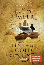 Das Buch von Kelanna - Ein Meer aus Tinte und Gold Cover