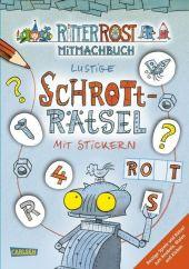 Ritter Rost Mitmachbuch - Lustige Schrott-Rätsel mit Stickern
