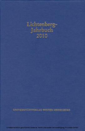 Lichtenberg-Jahrbuch 2010