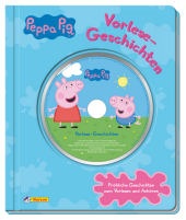 Peppa Pig - Vorlese-Geschichten, m. Audio-CD Cover