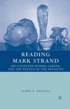 Reading Mark Strand