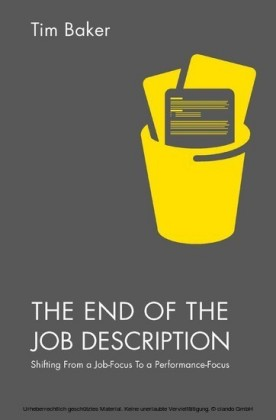 The End of the Job Description
