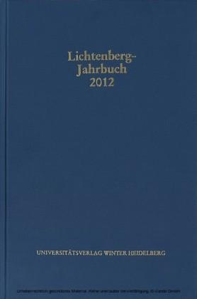 Lichtenberg-Jahrbuch 2012