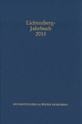 Lichtenberg-Jahrbuch 2013